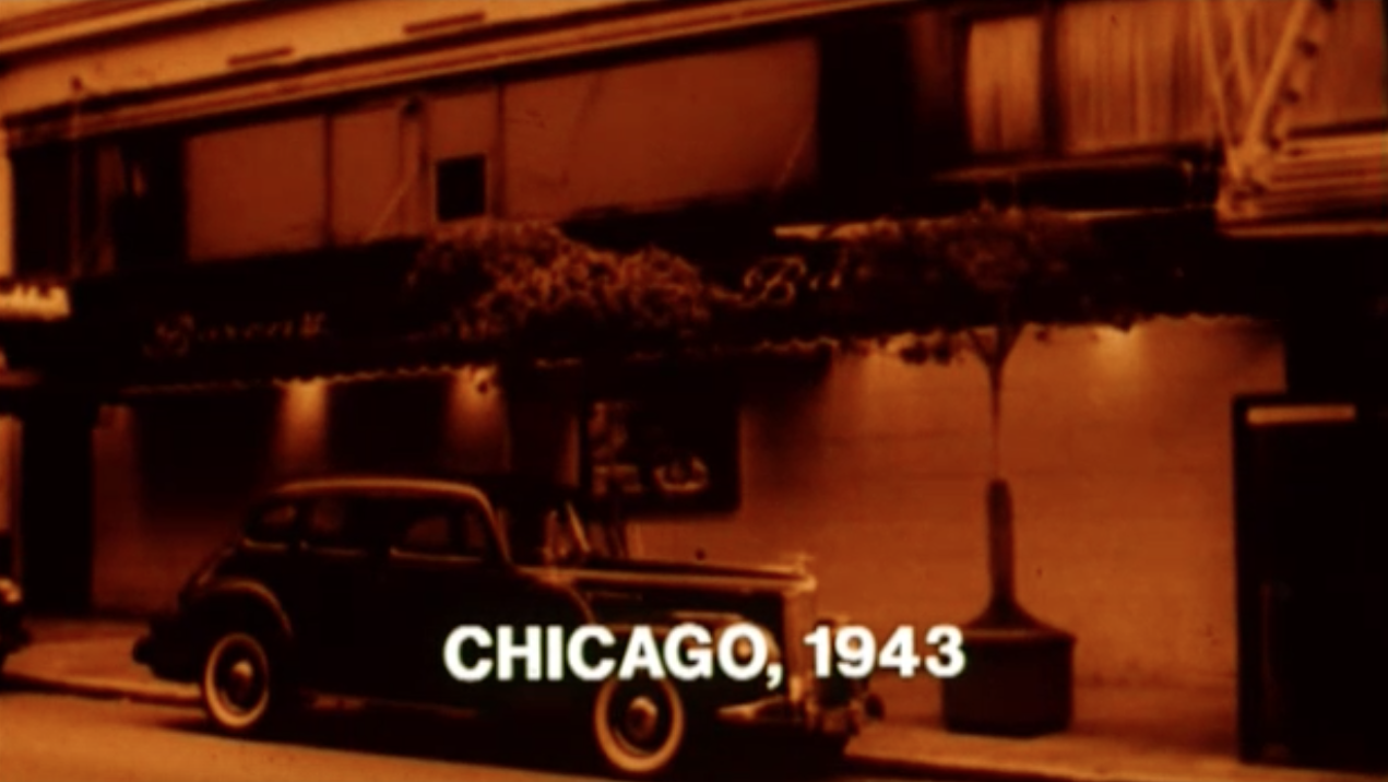 Establishing shot, Chicago, 1943, from Space Is the Place