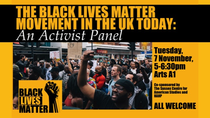 BLM in the UK poster
