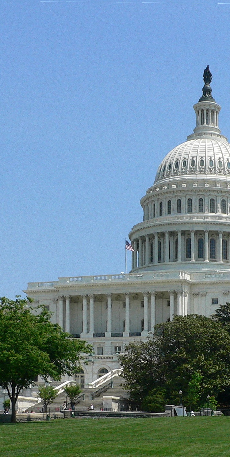 cropped photograph of the US Capitol Building