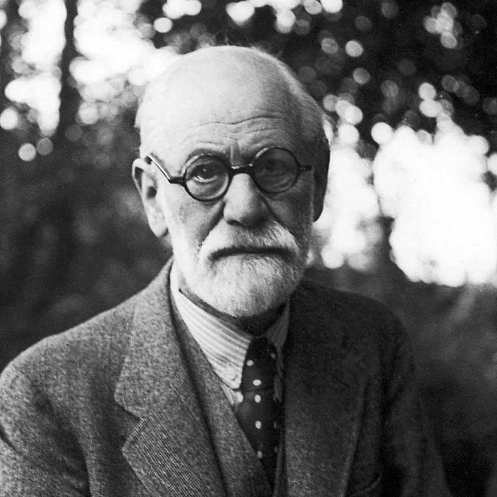 photograph of Sigmund Freud
