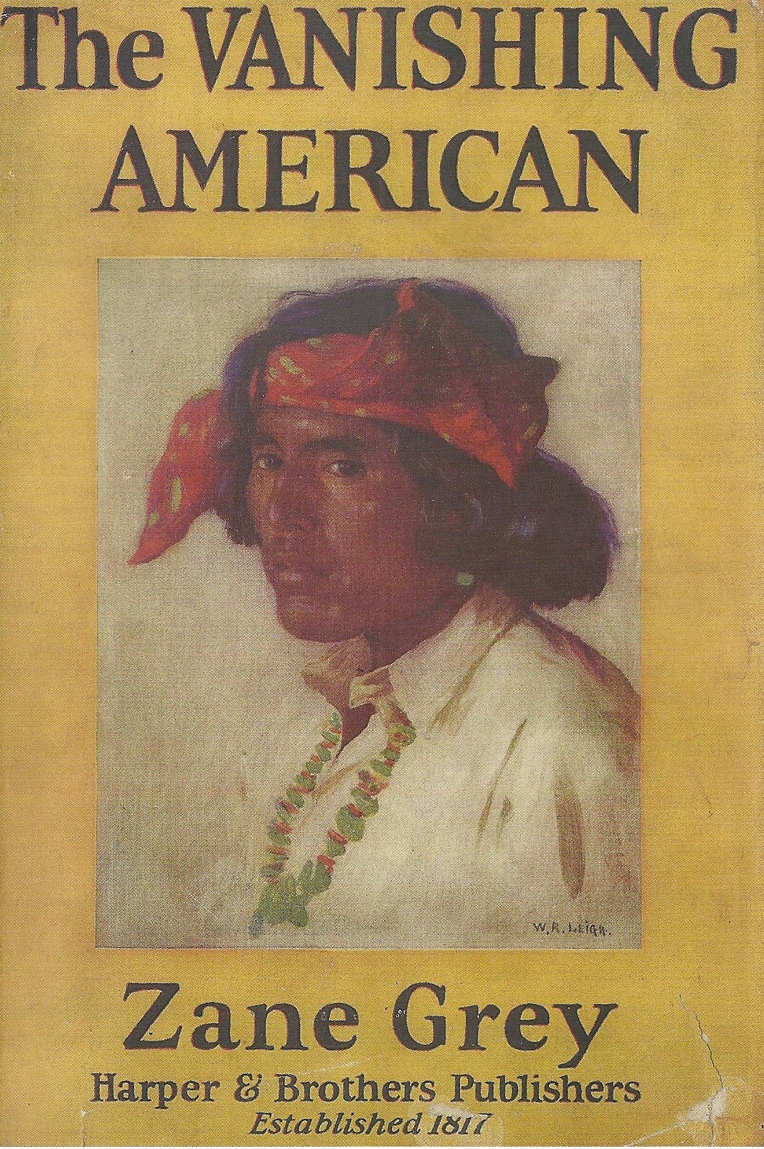 cover of novel The Vanishing American by Zane Grey