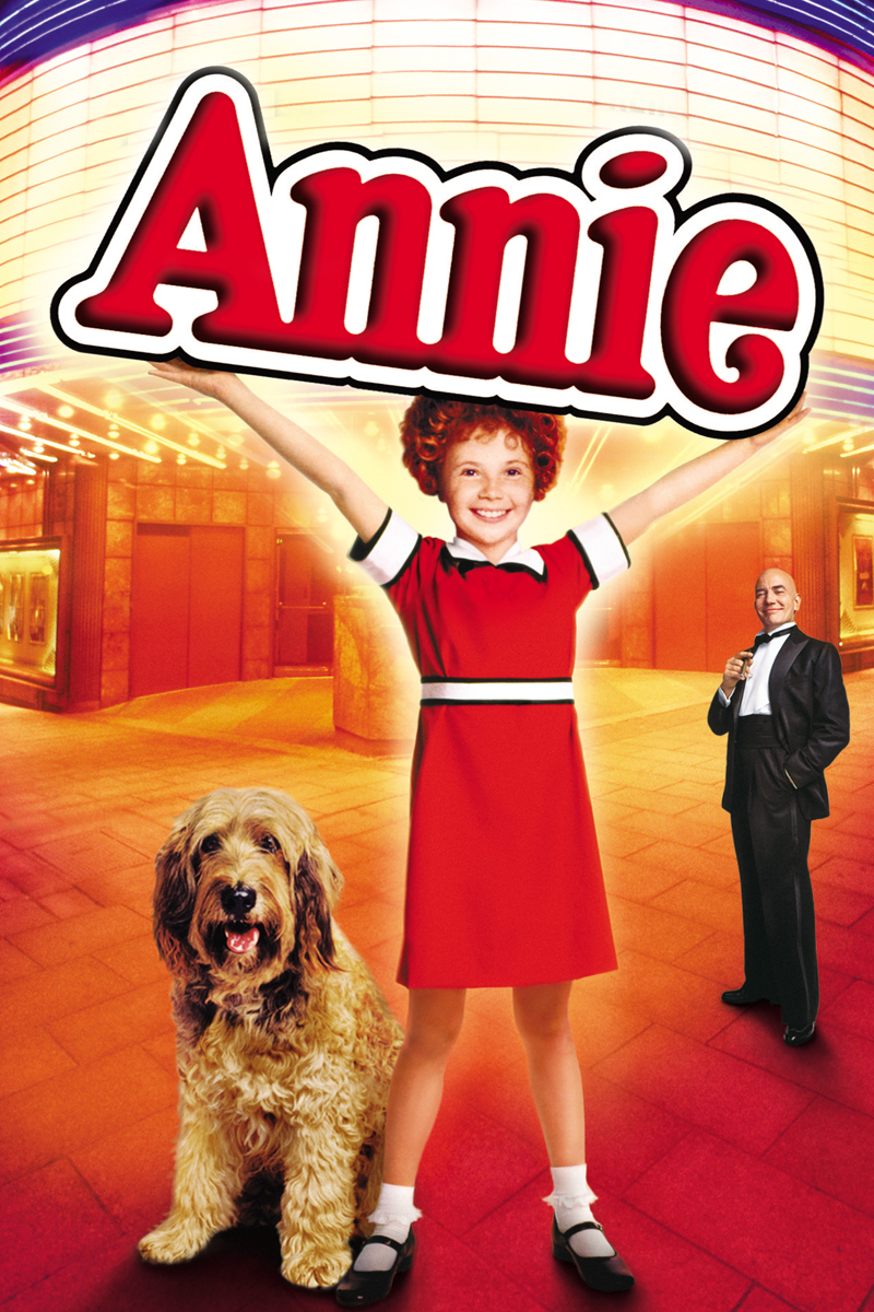 film poster for Annie