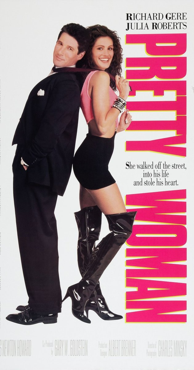 film poster for Pretty Woman