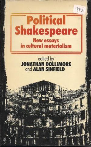 Image of cover of Political Shakespeare, 1985