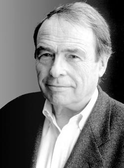 Pierre Bourdieu, black and white photo