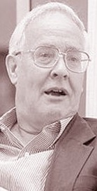 black and white photo of Benedict Anderson