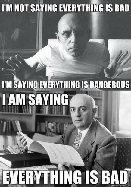 Foucault and Adorno
