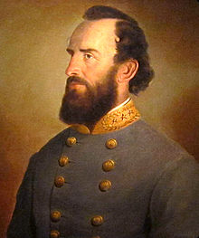 portrait of Stonewall Jackson