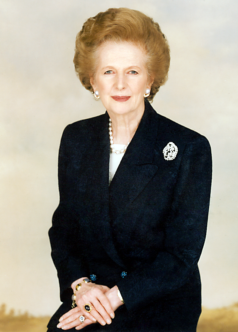 official photograph of Margaret Thatcher