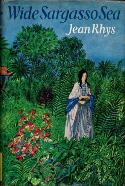 first edition cover of Wide Sargasso Sea.