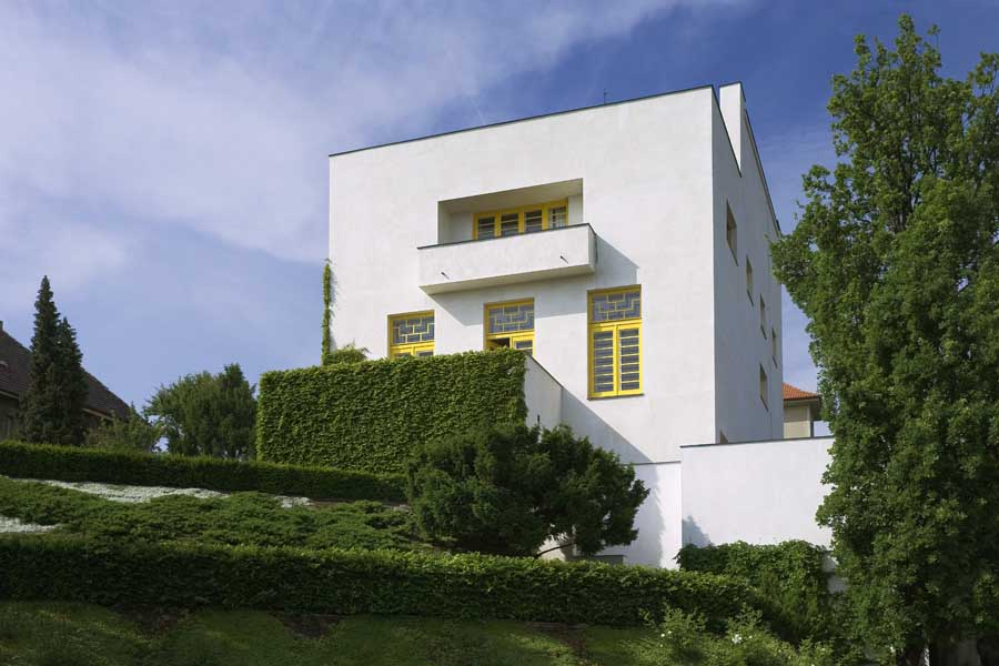 Adolf Loos, Villa Müller, Prague, 1930.