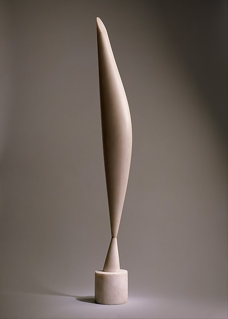 Constantin Brancusi, Bird in Space, marble, 1923.