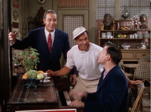 Georges Guétary, Gene Kelly, and Oscar Levant sing about Strauss.