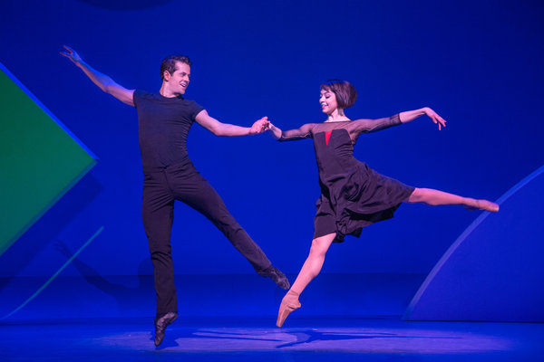 Leanne Cope and Robert Fairchild in An American in Paris.